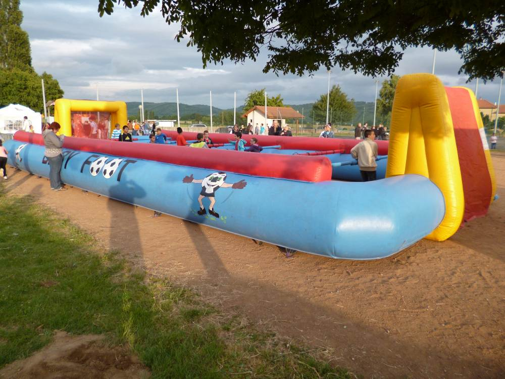 Location baby foot gonflable humain, by Diverty'Kids