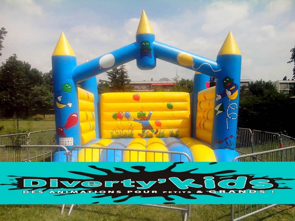 Location château gonflable par Diverty'Kids