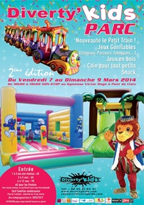 Diverty'Kids PARC structures gonflables