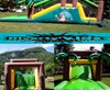 Location toboggan gonflable jungle, by Diverty'Kids