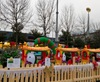 Manege petit train decor noel entreprise GRENOBLE