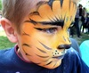 Maquillage tigre Diverty'Kids Grenoble