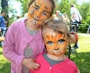 Diverty'Kids, maquillage tigre à Grenoble