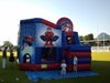 Diverty'Kids, animation fcg rugby château gonflable spider man
